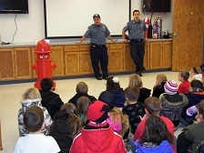 Fort Osage Fire Talks Prevention
